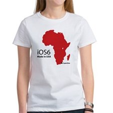 iOS6 Made in USA Tee