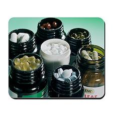 Food supplements Mousepad