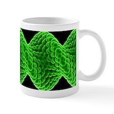 Twisted nanotube, molecular model Mug