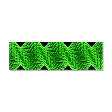 Twisted nanotube, molecular mode Car Magnet 10 x 3