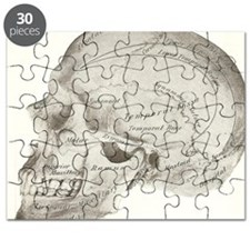side view skull design Puzzle