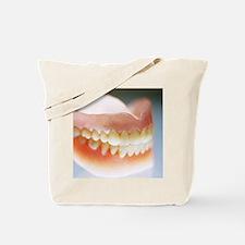 False teeth Tote Bag