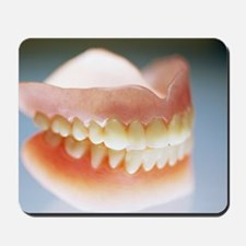 False teeth Mousepad