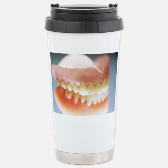 False teeth Stainless Steel Travel Mug