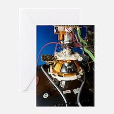 TV cathode ray tube Greeting Card