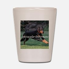 Spectacular Dobermans Shot Glass