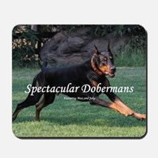 Spectacular Dobermans Mousepad