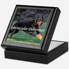 Spectacular Dobermans Keepsake Box