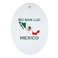 Cabo San Lucas, Mexico Oval Ornament