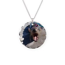 US Navy California sea lion Necklace