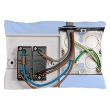 Two-way light switch Pillow Case