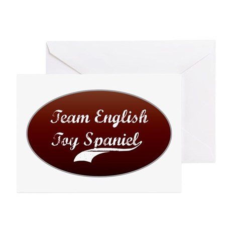 Team Spaniel Greeting Cards (Pk of 10)