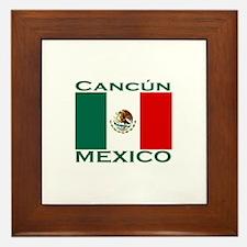 Cancun, Mexico Framed Tile