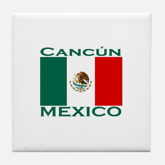 Cancun, Mexico Tile Coaster