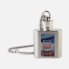 False teeth Flask Necklace
