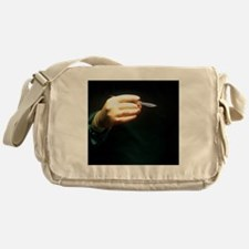 Fear of surgery Messenger Bag
