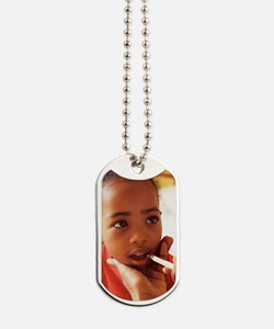 Feverish child Dog Tags