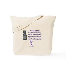 Prednisone Warning Tote Bag
