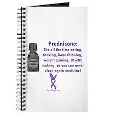 Prednisone Warning Journal