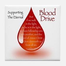 Eternal Blood Drive Tile Coaster