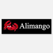 Alimango (Crab) Gifts Bumper Bumper Bumper Sticker