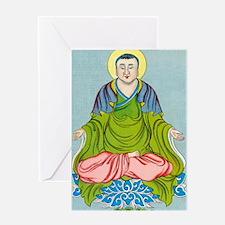Gautama Buddha, founder of Buddhism Greeting Card