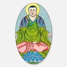 Gautama Buddha, founder of Buddhism Sticker (Oval)