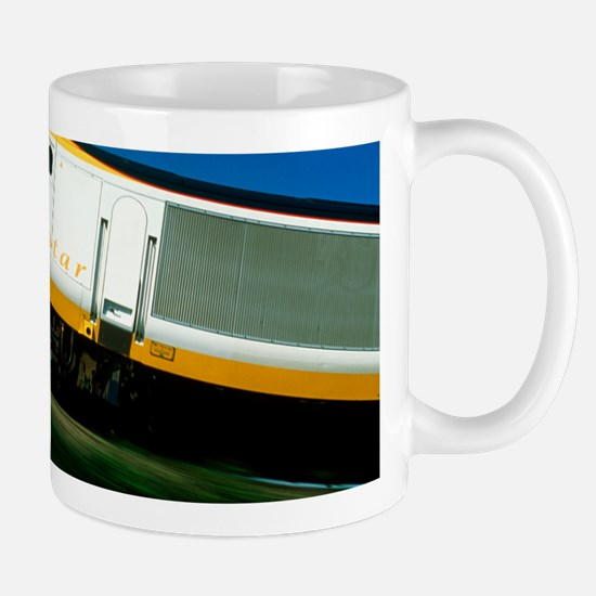 View of a Eurostar Channel Tunnel train Mug