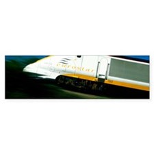 View of a Eurostar Channel Tunnel Bumper Sticker