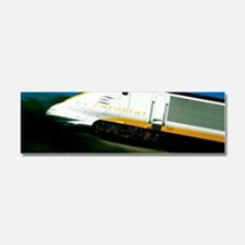 View of a Eurostar Channel Tunne Car Magnet 10 x 3