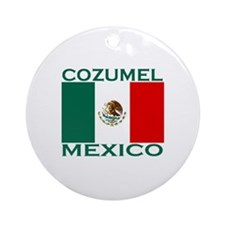 Cozumel, Mexico Ornament (Round)
