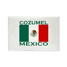 Cozumel, Mexico Rectangle Magnet