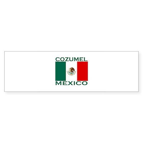 Cozumel, Mexico Bumper Sticker