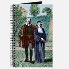 Galileo and his daughter Maria Celeste Journal