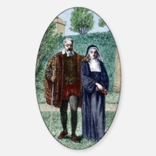 Galileo and his daughter Maria Cele Decal