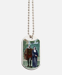 Galileo and his daughter Maria Celeste Dog Tags