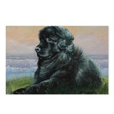 Newfoundland Dog Postcards (Package of 8)