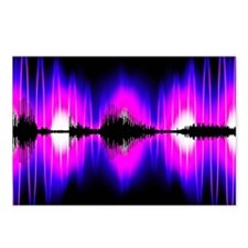 Voice recognition Postcards (Package of 8)