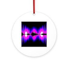 Voice recognition Round Ornament