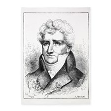 Georges Cuvier, French zoologist 5'x7'Area Rug