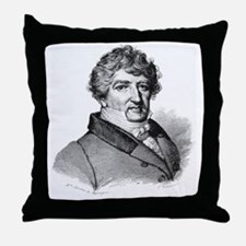 Georges Cuvier, French zoologist Throw Pillow