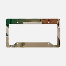 Gas chromatography-mass spect License Plate Holder