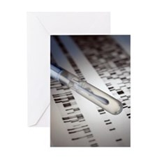 Genetic testing Greeting Card