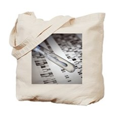 Genetic testing Tote Bag