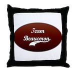 Team Beauceron Throw Pillow