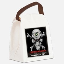 Certified Badass Canvas Lunch Bag