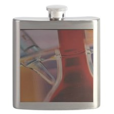 view of a volumetric  and other glassware Flask