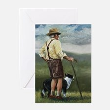 Sheep Herder Greeting Card