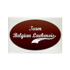 Team Laekenois Rectangle Magnet
