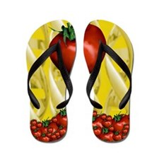 Genetically engineered tomatoes Flip Flops
